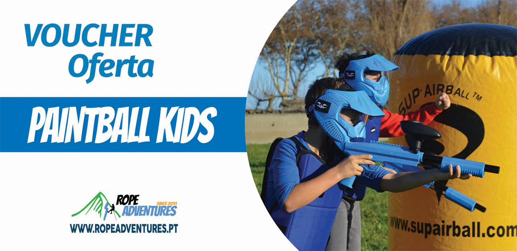 Paintball Kids  Gift Voucher